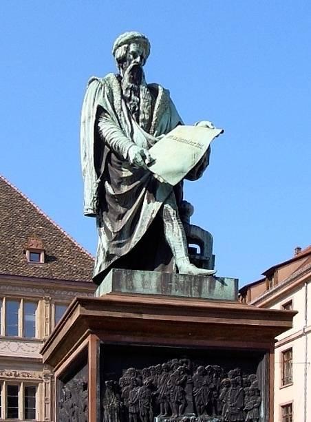 Estátua de Gutenberg, Mainz, Alemanha