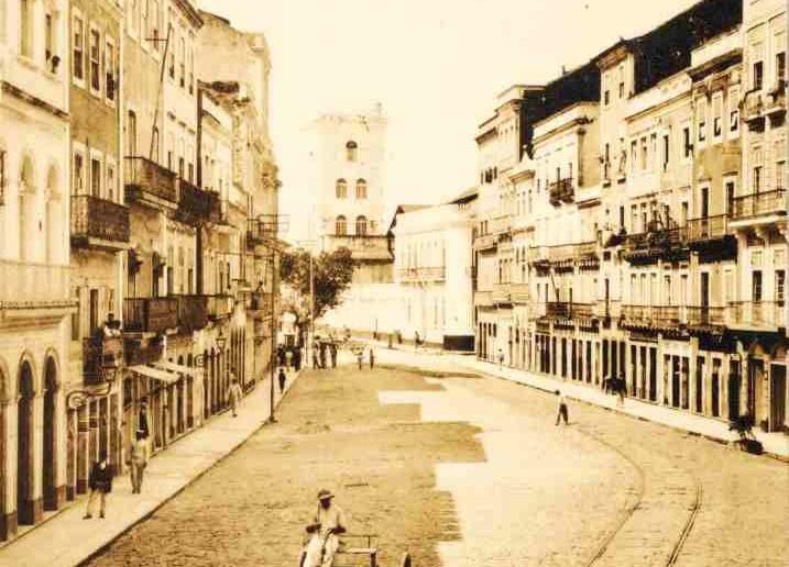 Rua do Bom Jesus. Acervo Benício Dias/Fundaj