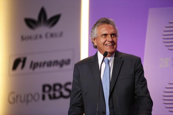 O senador Ronaldo Caiado (GO), um dos mais aplaudidos em Porto Alegre. Foto: Fernando Conrado