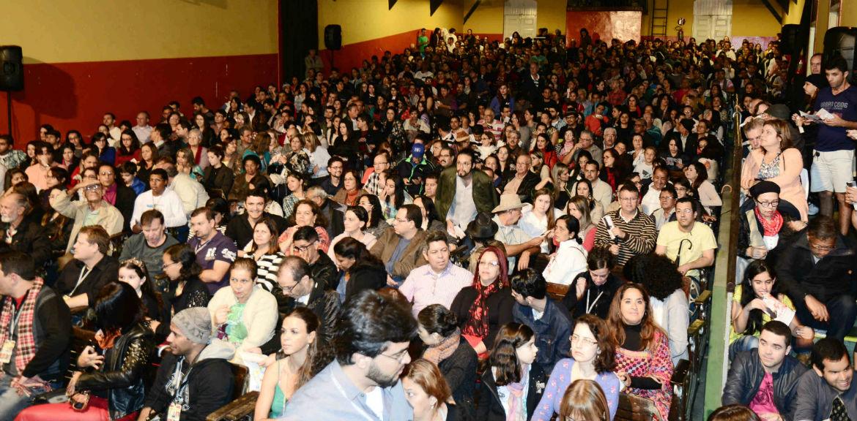 Auditório cheio para a última aula de Ariano Suassuna. Foto: Paulo Sérgio Sales/SEI