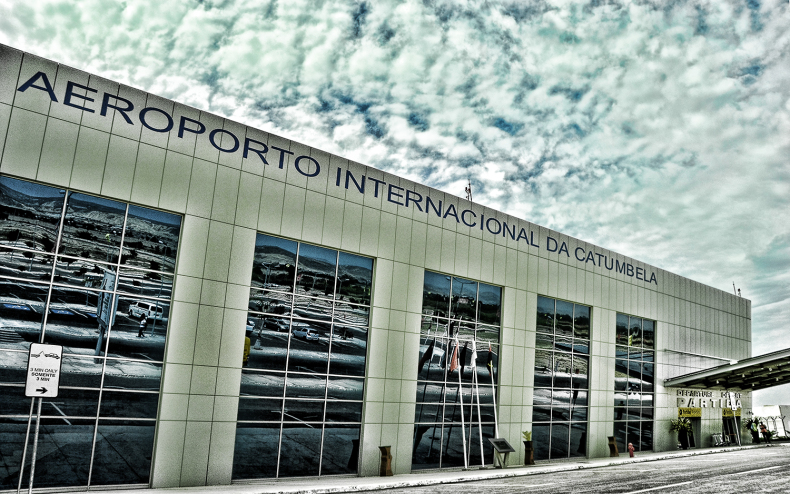 Aeroporto de Catumbela. Foto: José Alves/ Rede Angola