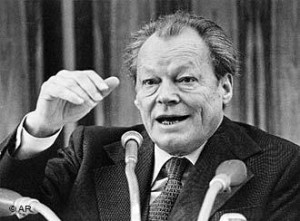 Willy Brandt. Foto: Reprodução.