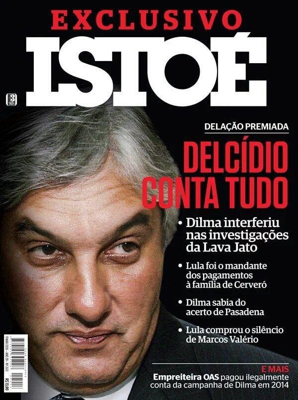 Delcídio citou, entre outros, Lula, Dilma e Aécio. Mais o tucano sumiu da edição da revista