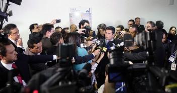 Entrevista coletiva com o juiz Sergio Moro