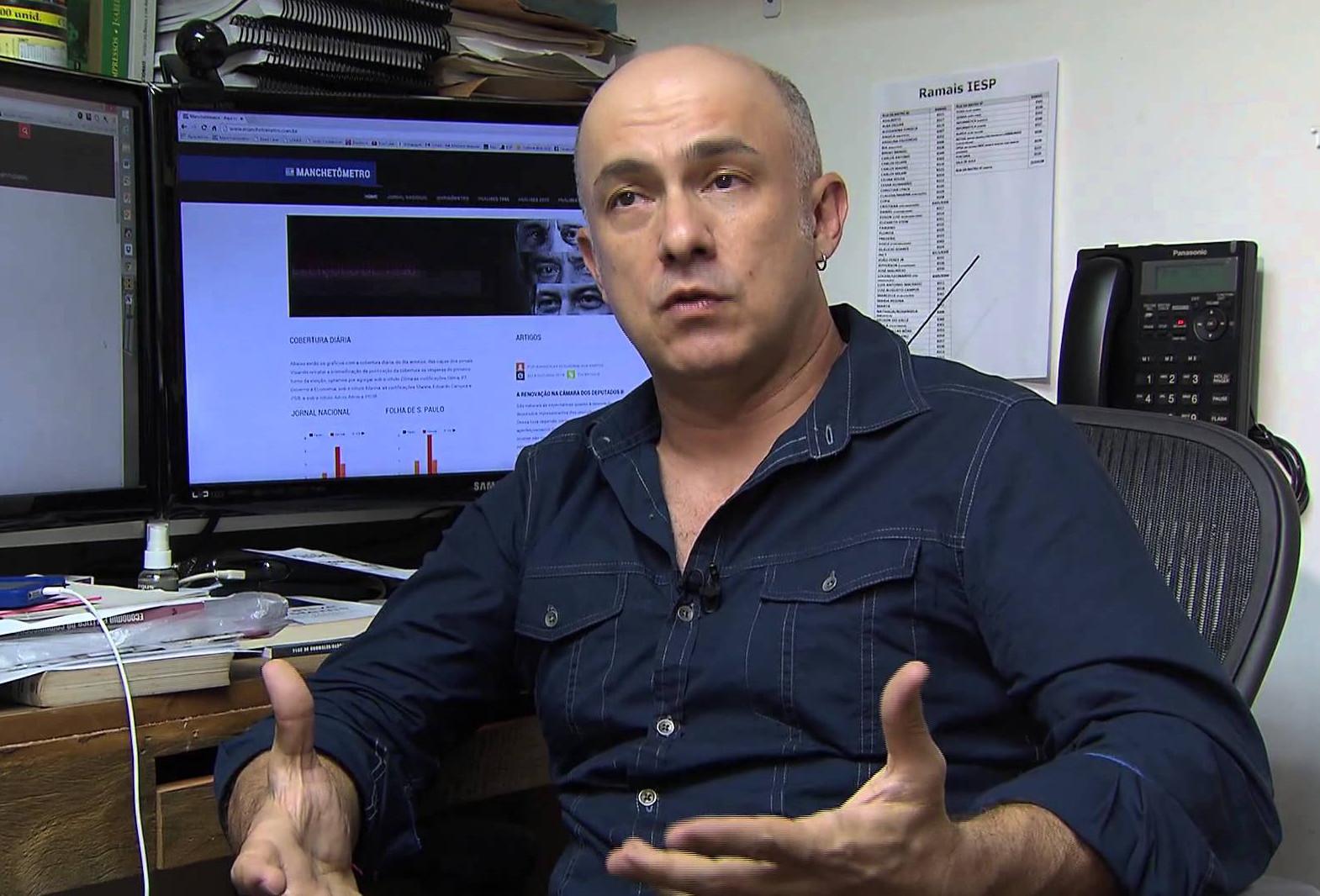 """João Feres Júnior: """"Não se trata de desequilíbrio na cobertura. É mais grave. Houve militância aberta"""""""