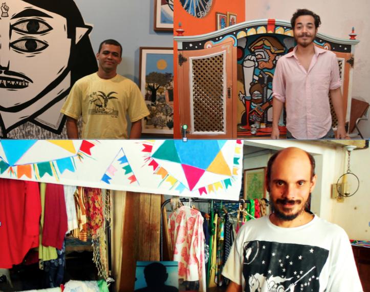 Bozó Bacamarte, Manoel Quitério e Paulo do Amparo estão entre os artistas da nova Brigada da Hora