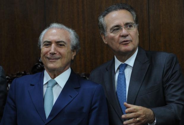 Citados nas delações da Odebrecht, Michel Temer e Renan Calheiros seguem tocando a agenda de desconstrução dos ganhos sociais da última década