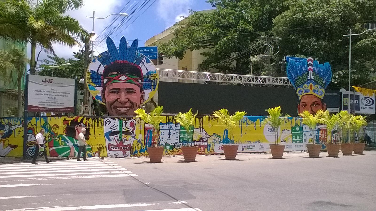 avenida Rio Branco bloqueada