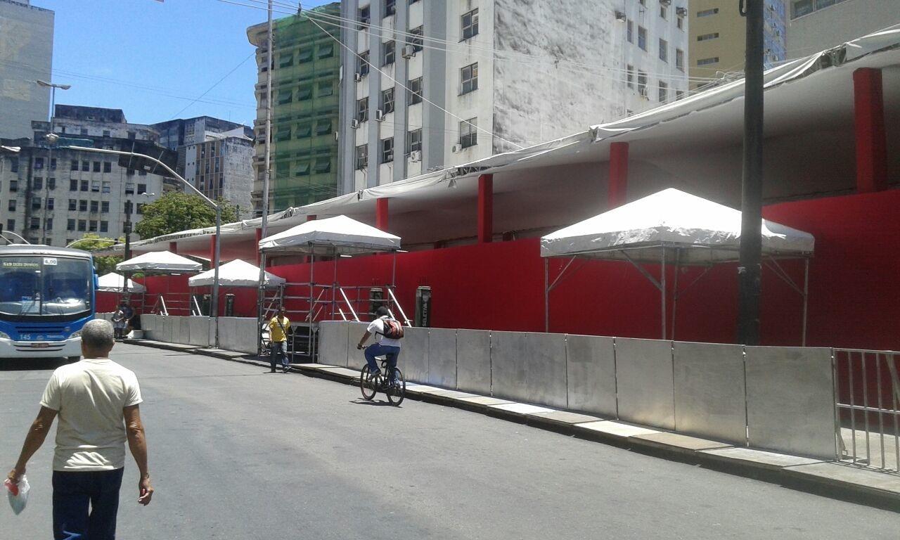 Camarote Spettus, na Avenida Dantas Barreto