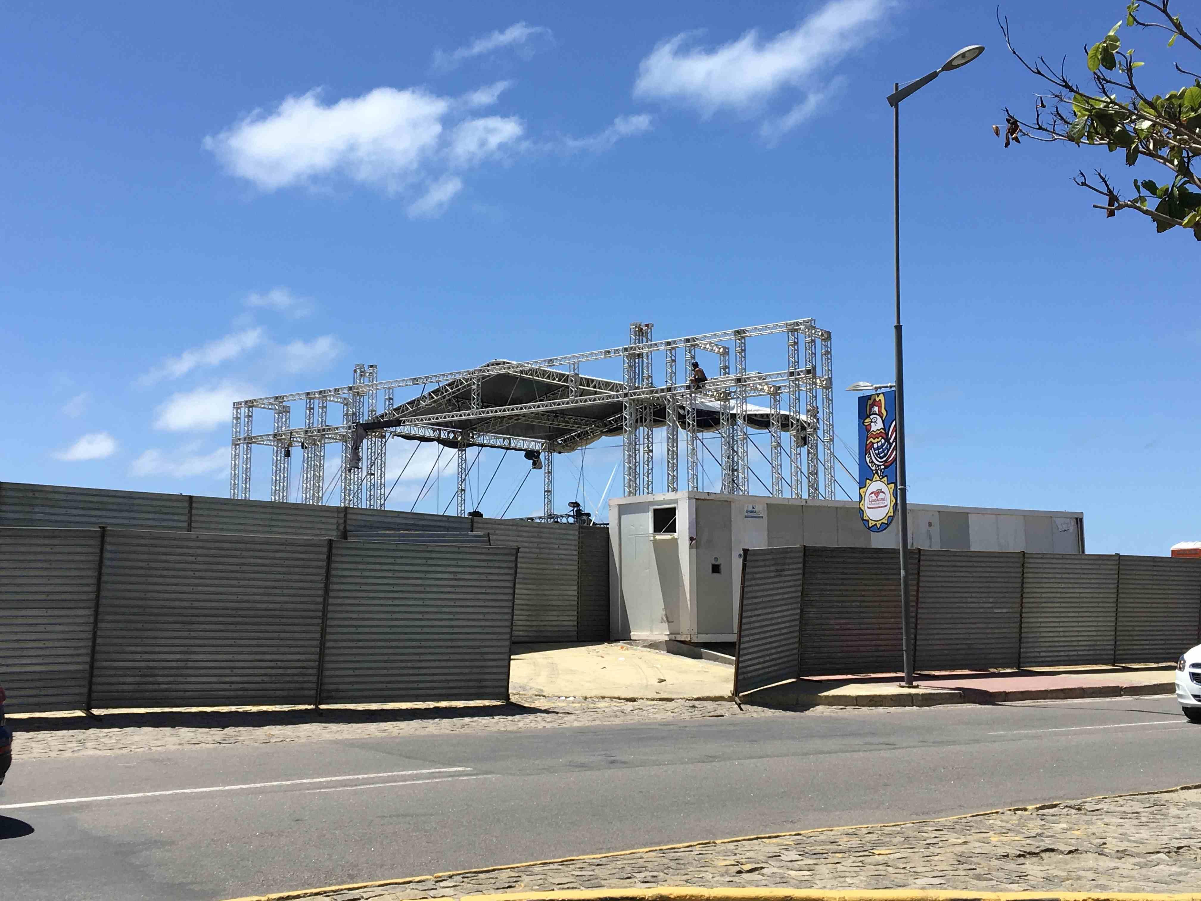 Camarote Parador, ao lado do Armazém 14, na área do Porto do Recife