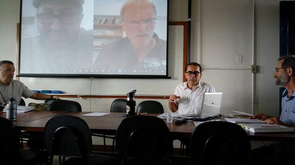 Marcílio Dantas Brandão na defesa da tese de doutorado na UFPE sobre a maconha