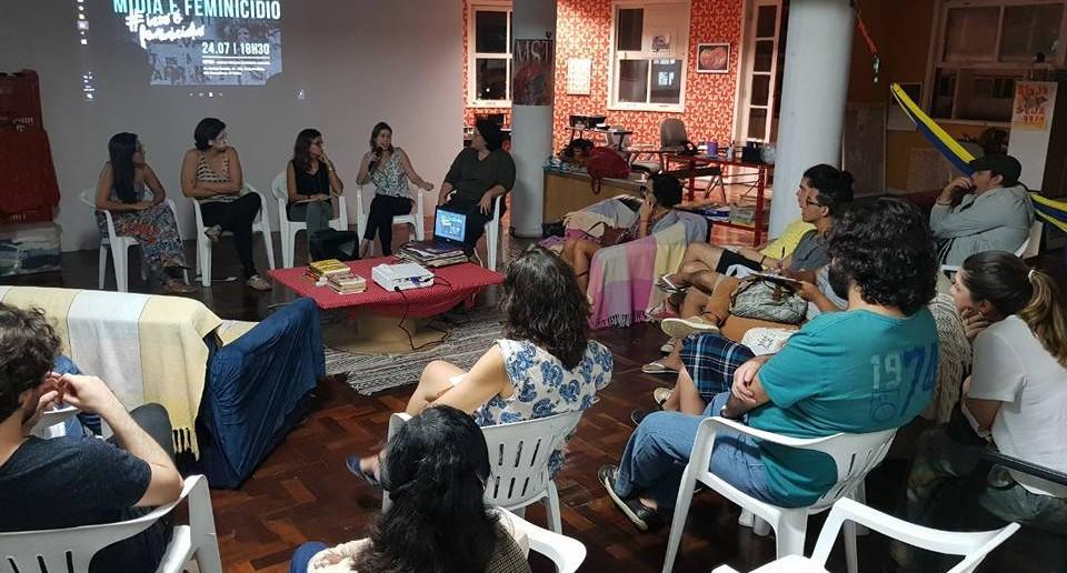 cinedebate Mídia e Feminicídio