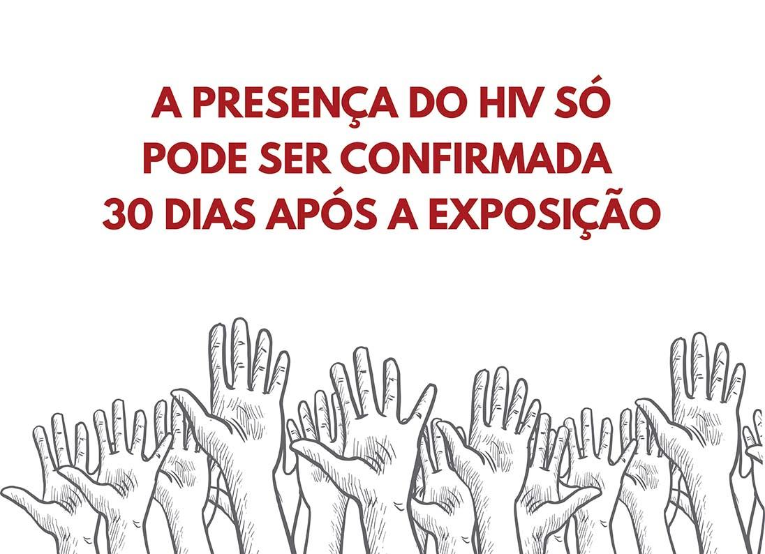 BOX a presença do HIV PQ
