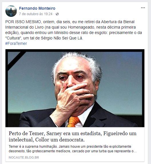 Fernando Monteiro Post