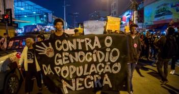 contra genocídio da população negra