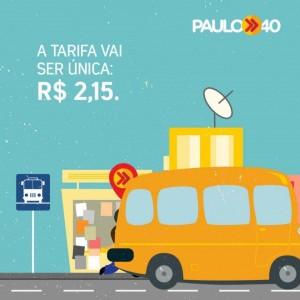Durante a campanha de 2014, Paulo Câmara prometeu tarifa única