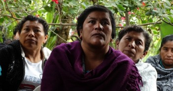 Mulheres que receberam representantes da ASA em uma visita feita, no início deste ano, no Corredor Seco. Foto: Rafael Neves
