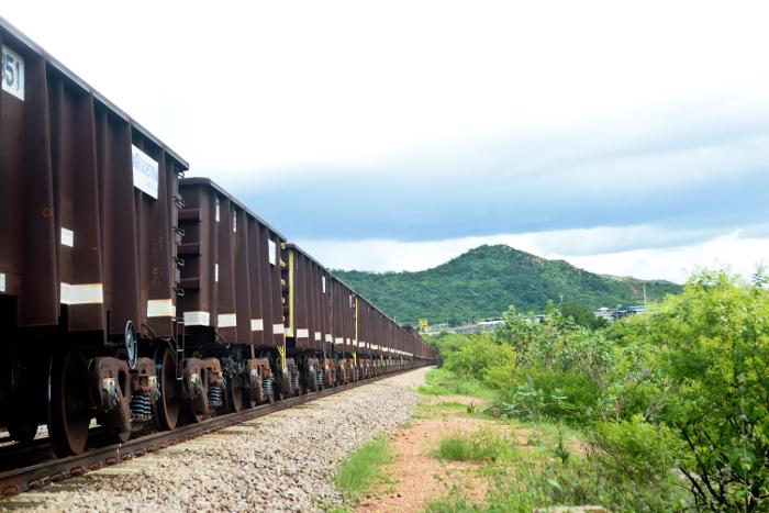 Abandonada, a ferrovia já consumiu R$ 6 bilhões e estima-se que outros R$ 7 bilhões sejam necessários para a sua conclusão, ainda sem data certa. Foto:  Anderson Stevens