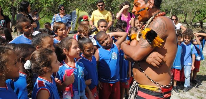 Dia do índio pra valer no litoral do Rio de Janeiro