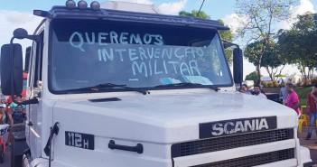 caminhoneiros intervenção 2