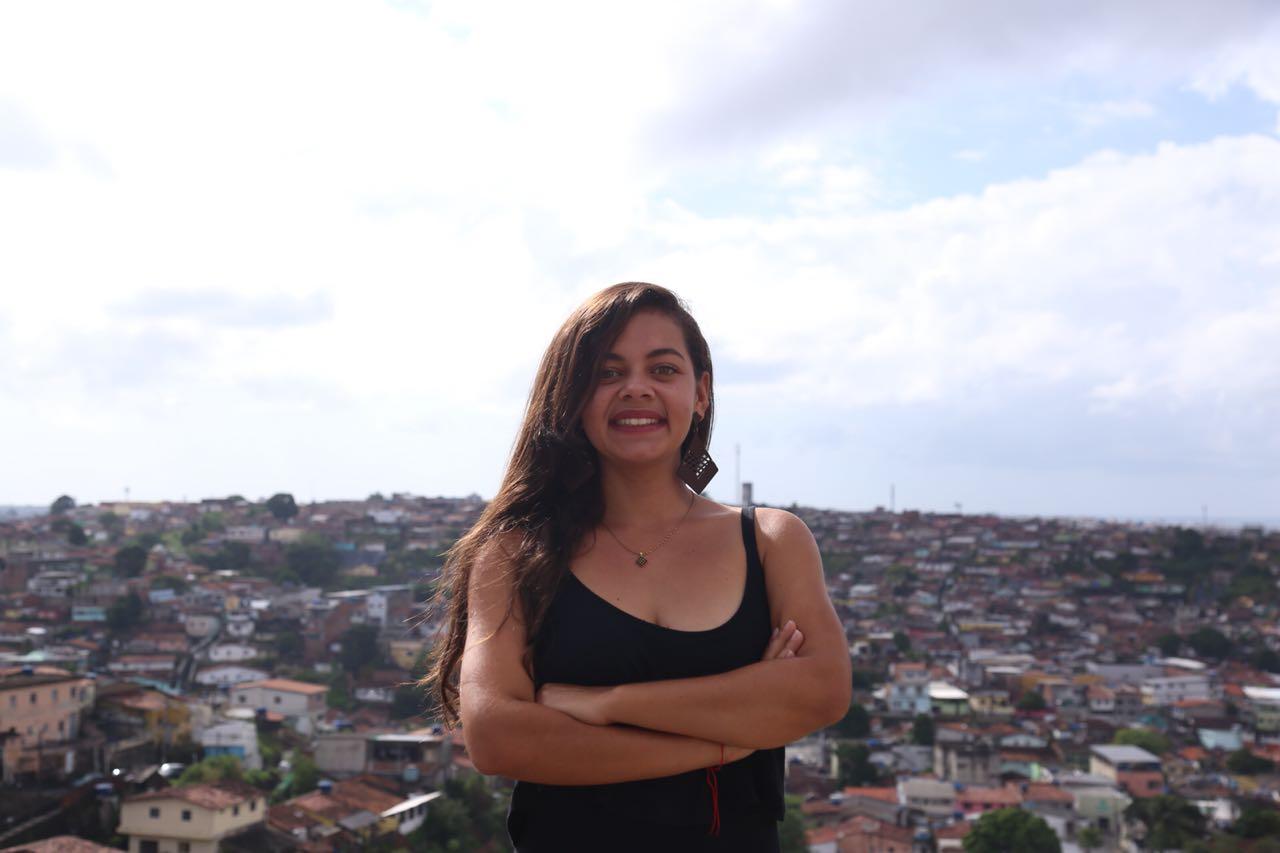 """É preciso construir na politica um espaço de diálogo com a juventude"""", Joelma Carla."""
