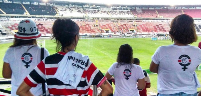 Mulheres que lutam pelo direito de torcer nos estádios são agredidas pela PMPE