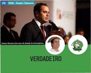 Paulo Camara verdadeiro