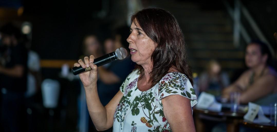 Desde 2004 Simone Fontana participa das eleições pelo PSTU. Foto: Inês Campelo/Marco Zero Conteúdo