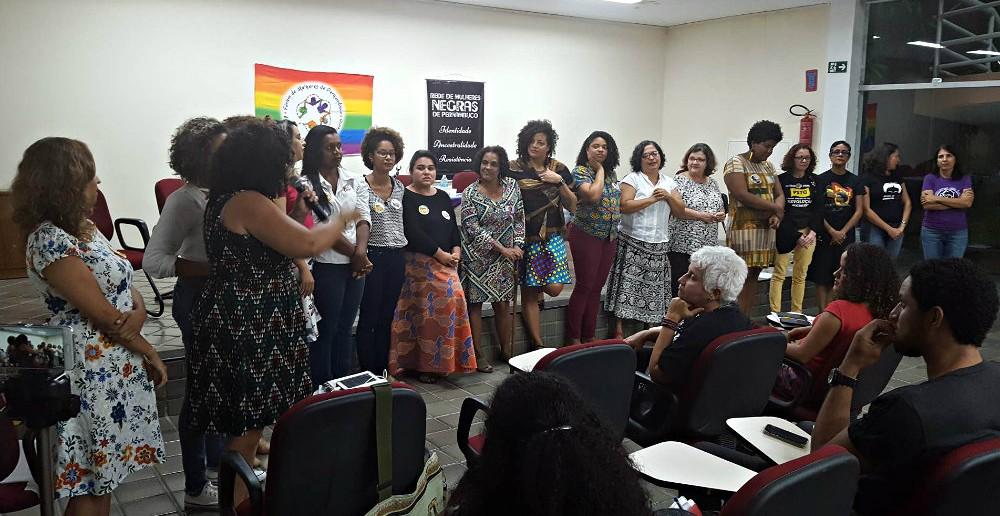 Debate com as candidatas ao legislativo. Foto: Maria Carolina Santos/MZC