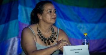 Ana Patrícia Alves durante o debate da Metrópole. Foto: Inês Campelo/MZ Conteúdo