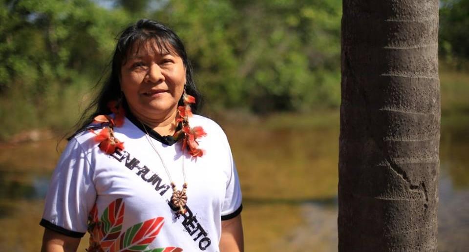 Eleita deputada federal neste domingo, Joenia Wapichana (REDE/RR) será primeira mulher indígena no Congresso Nacional. Foto: Divulgação