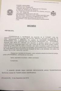 Decisão judicial Qualiman