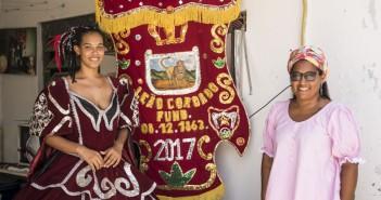 Karen e Karina Aguiar, do Leão Coroado. Foto: inês Campelo/MZ