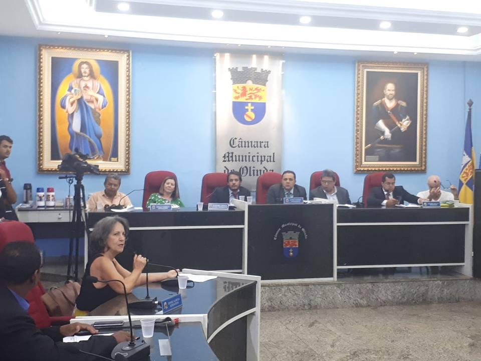 audiência Câmara Olinda