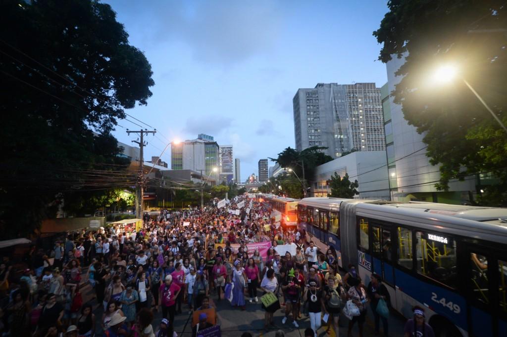 Dia Internacional de Luta das Mulheres, 8 de Março de 2018. Crédito: Inês Campelo/MZ Conteúdo