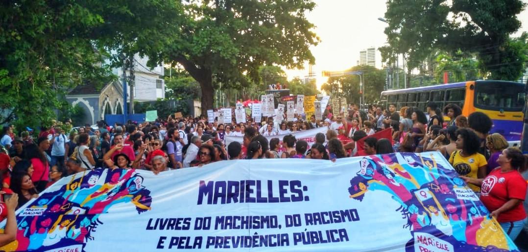8 de março no Recife