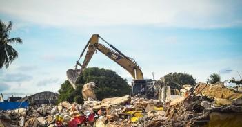 Demolição do Cais José Estelita. Foto: Inês Campelo/MZ Conteúdo