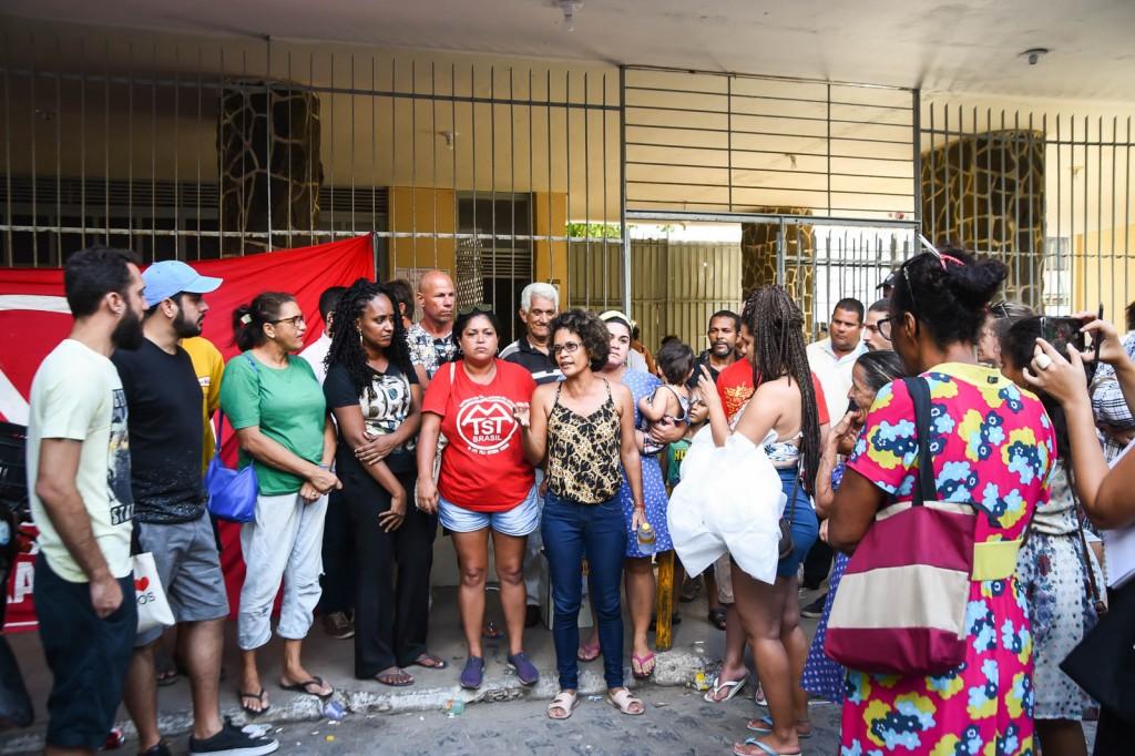 Mutirão reuniu voluntários no último domingo (Crédito: Inês Campelo/MZ Conteúdo)