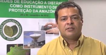 O coronel Robson Santos da Silva. Imagem: YouTube/Reprodução