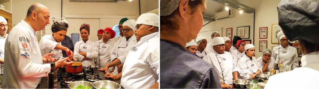 Curso de Culinária para público LGBTI_ (2 fotos
