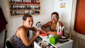 Claudiane e Valéria criticam governo, mas divergem sobre alternativas. Foto: Inês Campelo/MZ Conteúdo