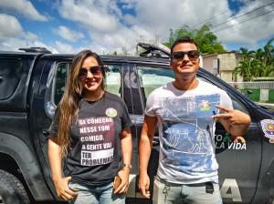 Manifestantes presentes na visita de Jair Bolsonaro ao Recife_ (2)