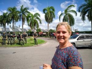 Manifestantes presentes na visita de Jair Bolsonaro ao Recife_ (3)