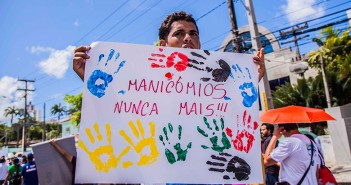 Crédito: Osvaldo Morais/Núcleo  Estadual de Luta Antimanicomial