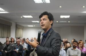 O pró-reitor Thiago Galvão. foto: UFMS/Reprodução