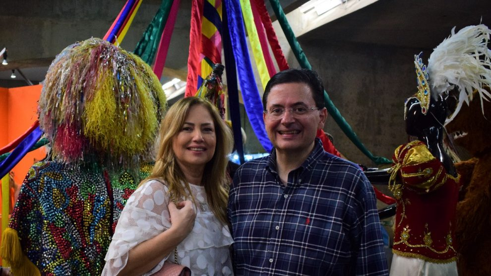 Rita Lira e Antônio Campos