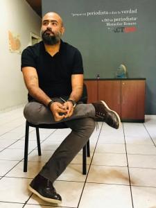 César Fagoaga, chefe de redação da Revista Factum. Foto: Daiene Mendes