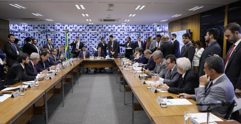 Reunião de líderes dos partidos para debater a reforma da Previdência