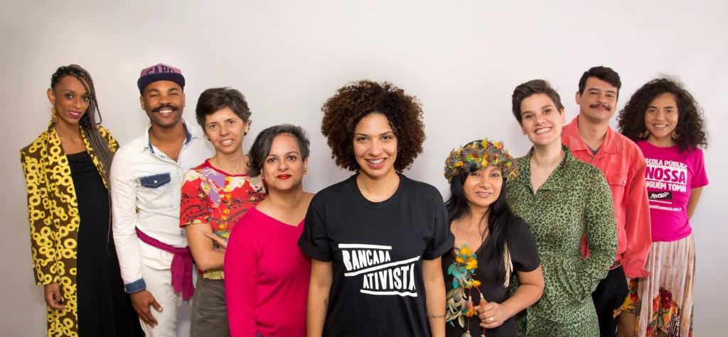 Bancada Ativista é o primeiro mandato coletivo a ocupar deputância estadual em São Paulo. Foto: Bancada Ativista