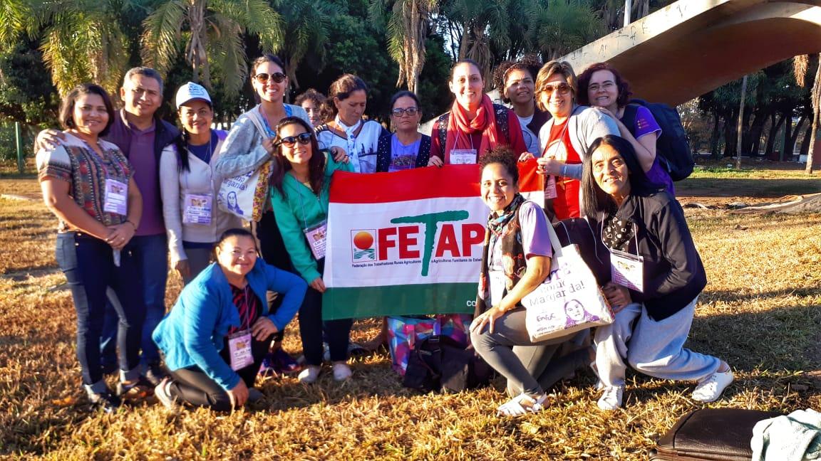 Viagem acompanhando camponesas para Marcha das Margaridas_ (6)